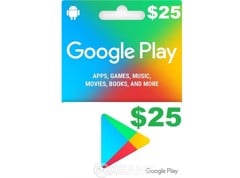 Google Play Gift Card US-$25