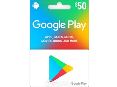 Google Play Gift Card US-$50