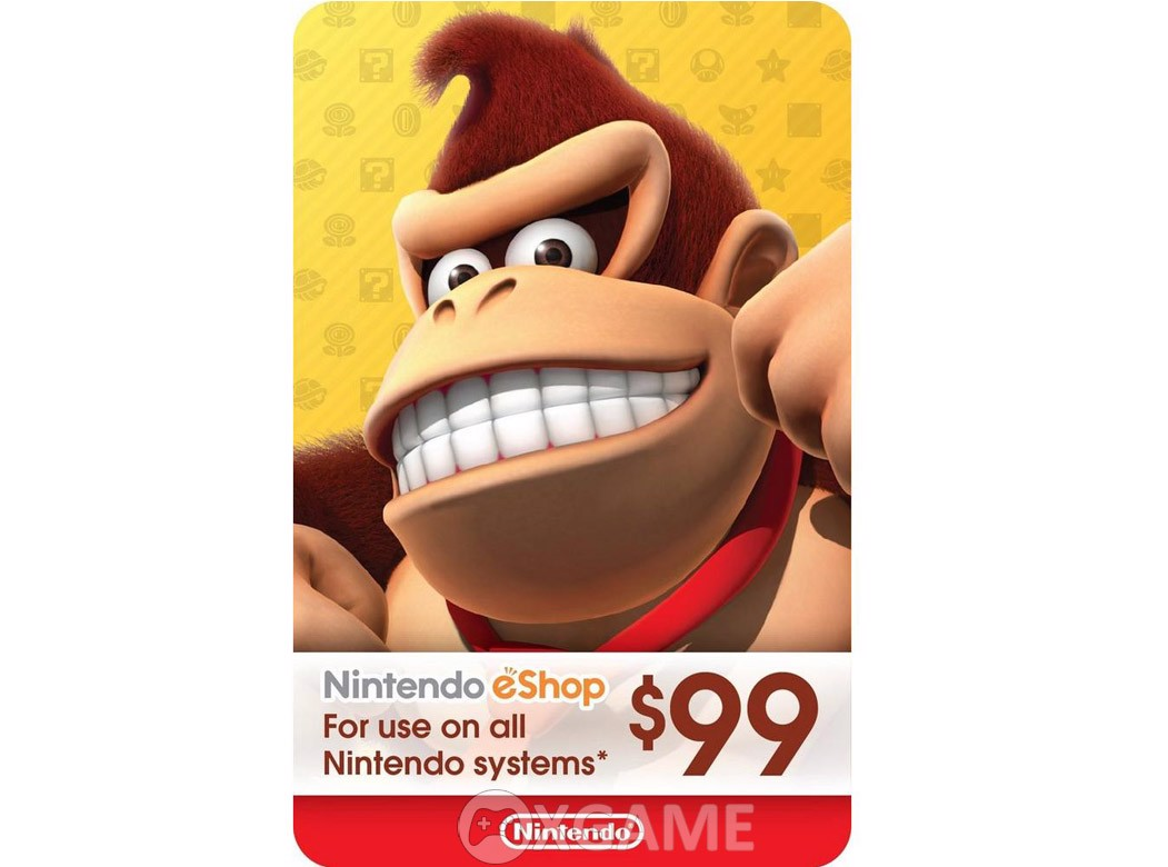 Thẻ eSHOP Gift Card 99$ - US