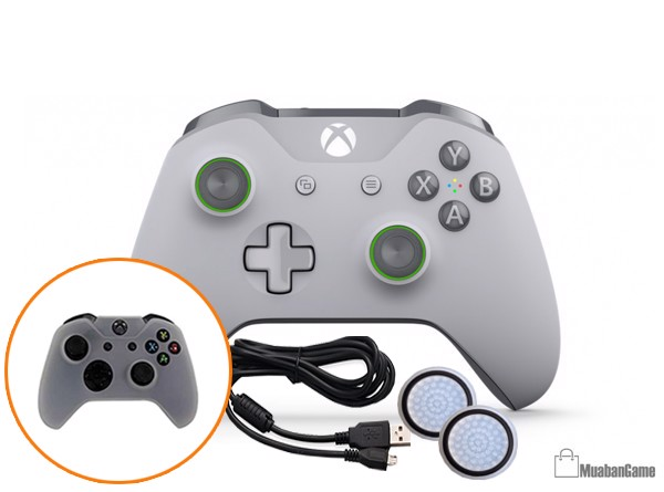 Tay Xbox One S [GRAY/GREEN] COMBO