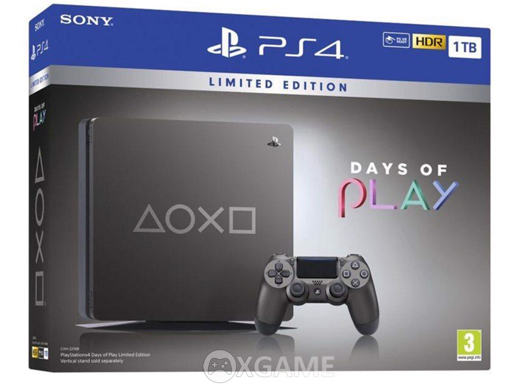 Máy PS4 Slim Days Of Play 2019 [1TB]