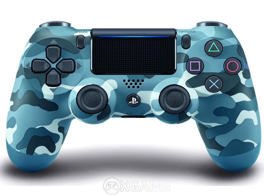 Tay PS4 Blue Camouflage [Sony VN]