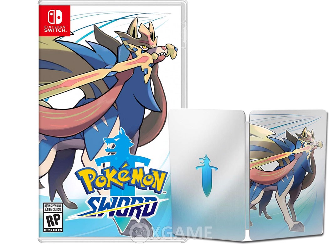 Pokemon Sword SteelCase