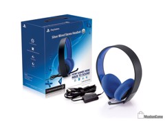Tai nghe Silver Wired Stereo Headset PS3- Box