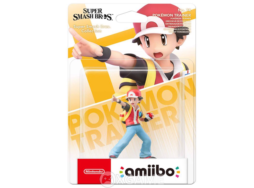 Amiibo-Pokemon Trainer