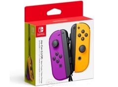 Bộ Joy-Con Controllers - Neon Purple/Neon Orange
