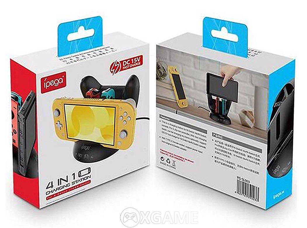 Dock sạc 4 in 1 cho Nintendo Switch - íPEGA