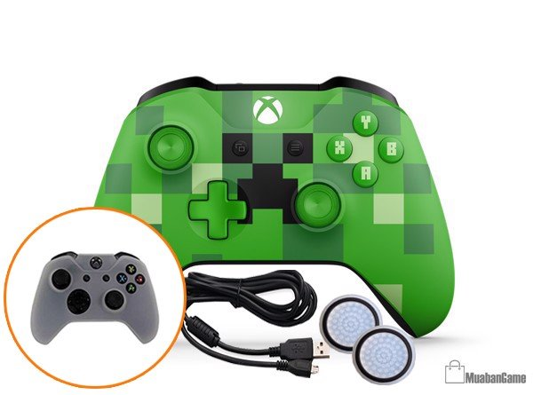 Tay Xbox One S [MINECRAFT CREEPER] COMBO