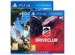 Horizon Zero Dawn Game + Drive Club Game [2ND]