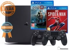 Máy PS4 Slim 500GB - 2 Game, 2 Tay DS4