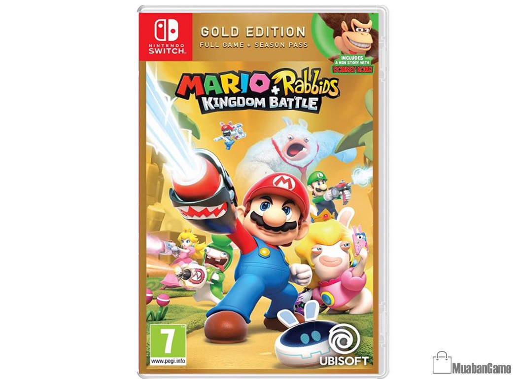 Mario + Rabbids: Kingdom Battle Gold Edition