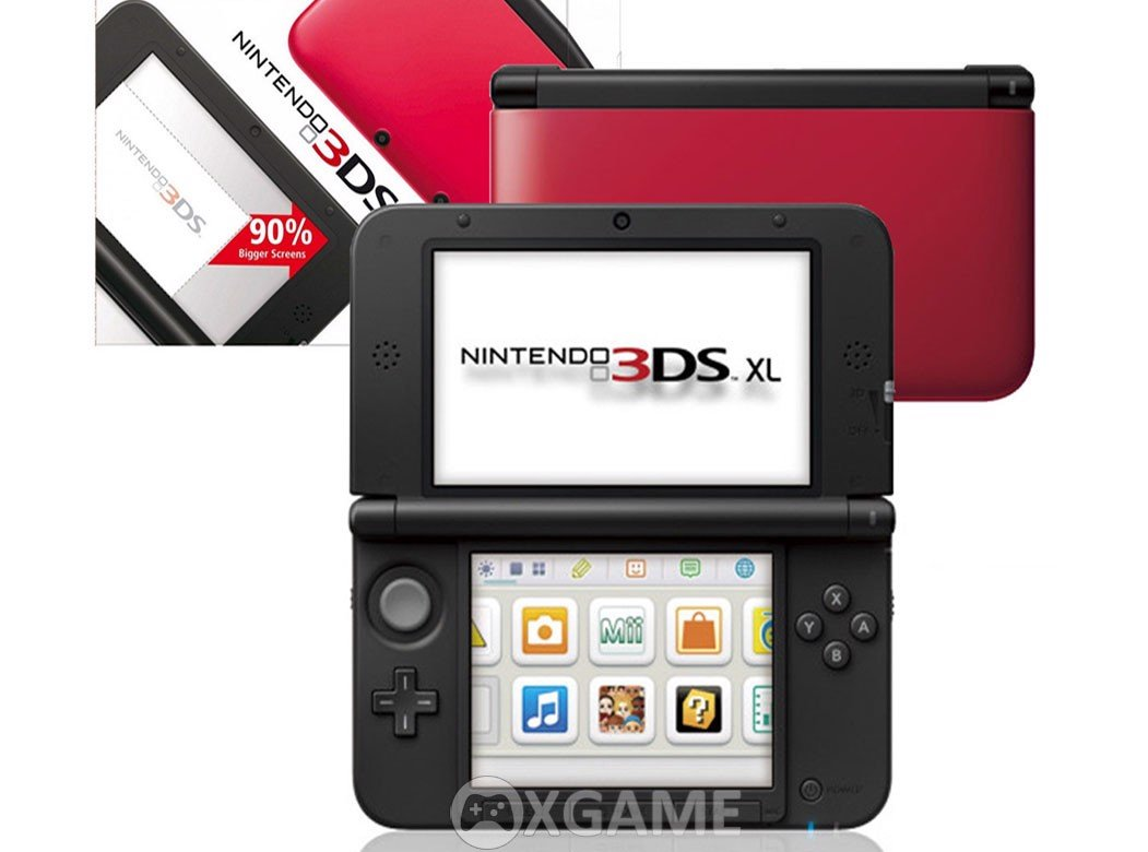 Máy 3DS XL [HACK] RED 2ND-32GB