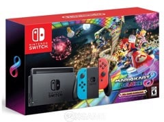 Máy N Switch Mario Kart 8 Deluxe Accessories Bundle