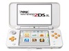 Máy NEW 2DS LL-Hacked 16GB-White Orange