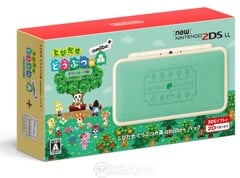 Máy NEW 2DS LL-Animal Crossing-Hacked