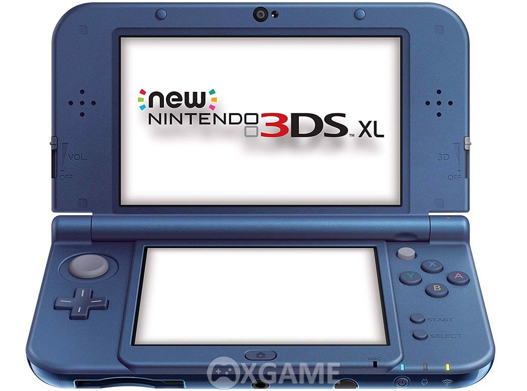 Máy New 3DS XL [TRAY] Xanh Hacked 16GB