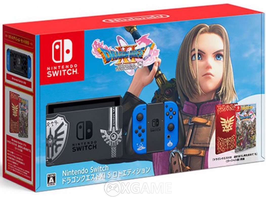 Máy Nintendo Switch Dragon Quest XI S Limited Edition-New 2019