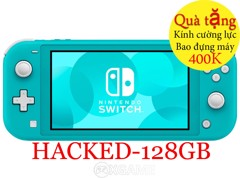 Máy Nintendo Switch Lite Turquoise-Hacked-128GB