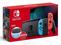 Máy Switch Màu Neon Red Blue - V2- Bundle