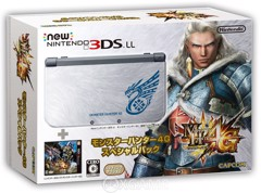 Máy New 3DS-LL [Monster Hunter 4G] HACKED