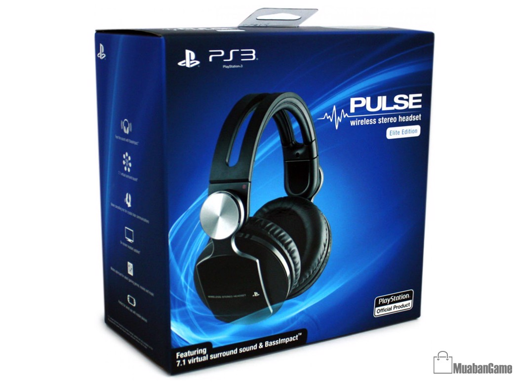 PS3 PULSE Wireless Stereo Headset