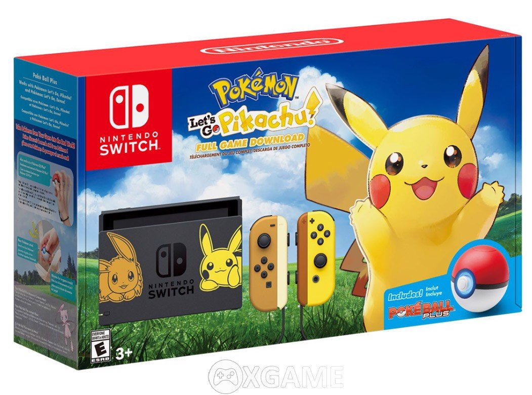 Máy Switch Pokemon: Let's Go Pikachu!