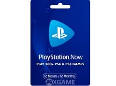 PlayStation Now 12 Tháng-US