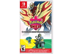 Pokemon Shield + Expansion Pass-US