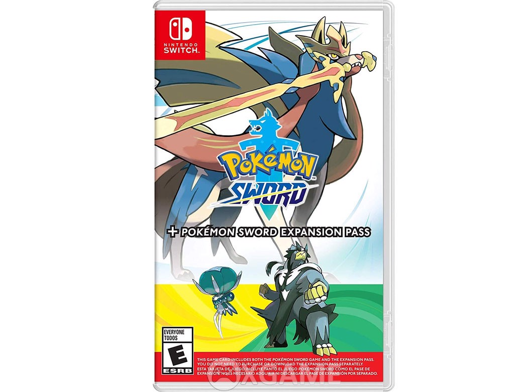 Pokemon Sword + Expansion Pass-US