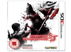 Resident Evil: The Mercenaries 3D-2ND-TRAY