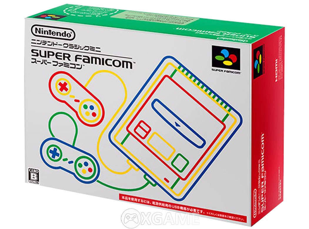 Máy Super Famicom [Japanese Super Nintendo]