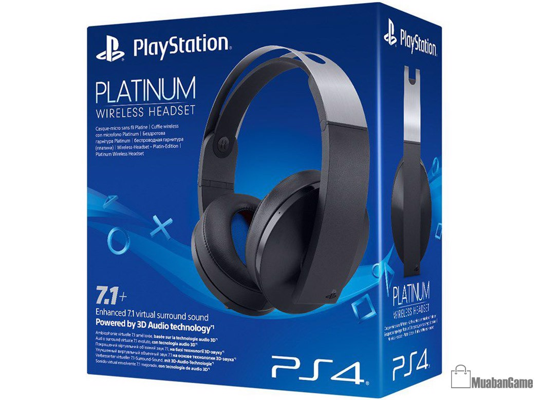 Tai Nghe PS4 Platinum Wireless Headset