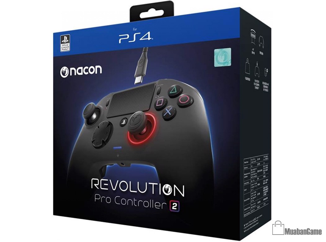 Tay Chơi game Nacon Revolution 2 [PS4/PC/MAC]