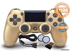 Tay PS4 - DS4 Gold [Sony VN] COMBO