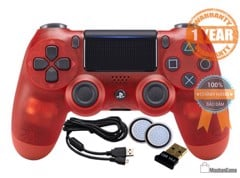 Tay PS4 - DS4 Red Crystal [Sony VN] COMBO