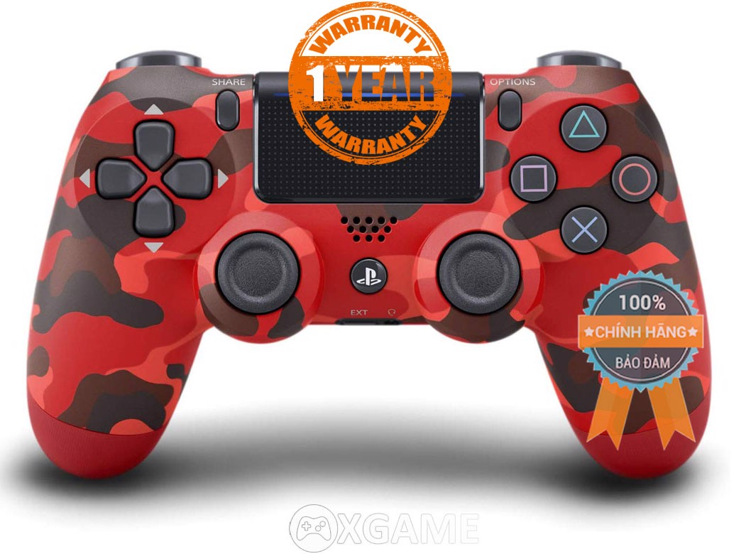 Tay PS4 - Dualshock 4 [Sony VN] Red Camo