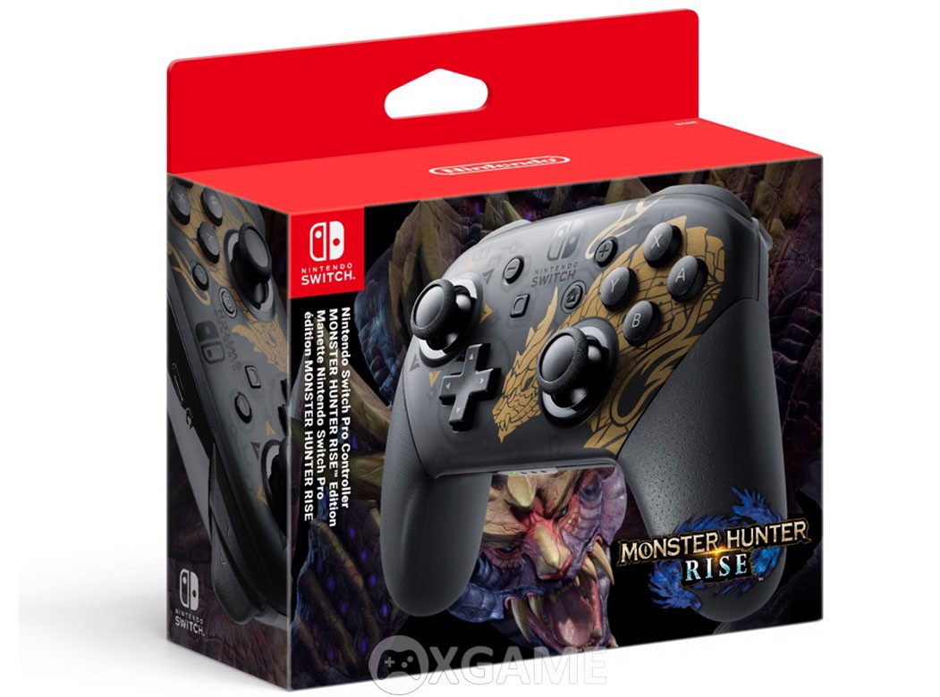 Tay Switch Pro Controller Monster Hunter Rise Edition