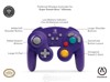 Tay Wireless GameCube Style Controller-PowerA-Xanh