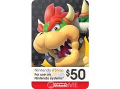 Thẻ eSHOP Gift Card 50$ - US