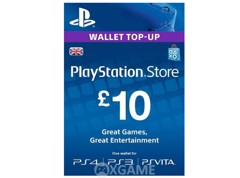 Thẻ PSN 10 GBP - UK