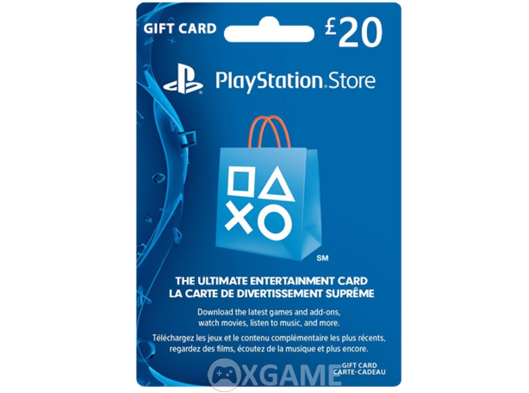 Thẻ PSN 20 GBP - UK