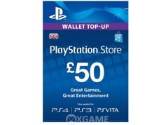 Thẻ PSN 50 GBP - UK