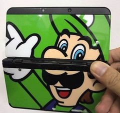 Máy New 3DS Mario [US] +16GB noBox