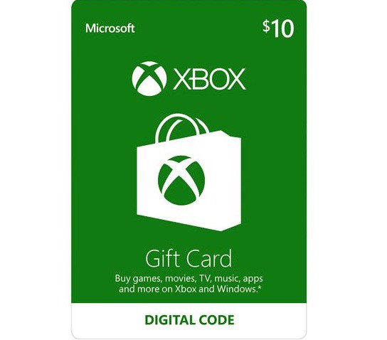 Thẻ Xbox Gift Card 10$ - US