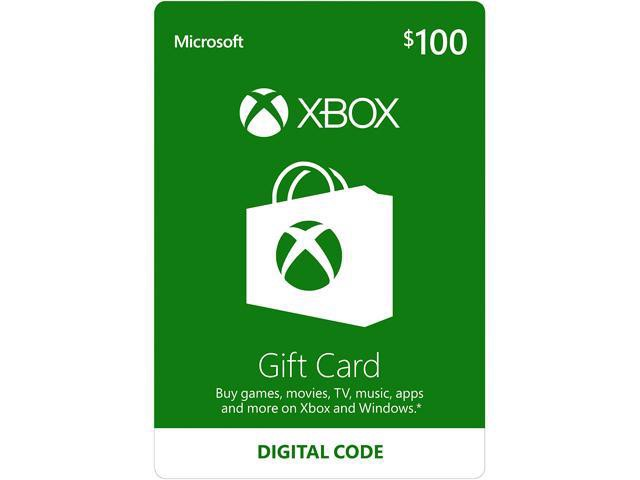 Thẻ Xbox Gift Card 100$ - US