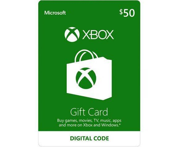 Thẻ Xbox Gift Card 50$ - US