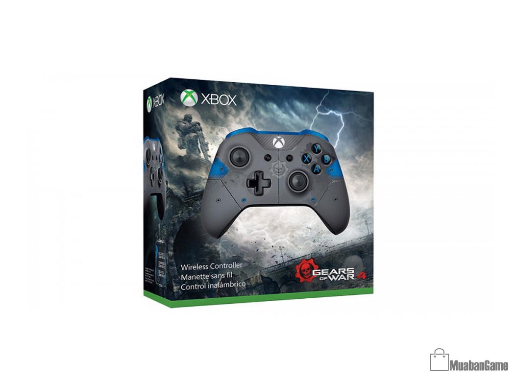 Tay Xbox One S [Gear of War 4] Xanh Limited Edition