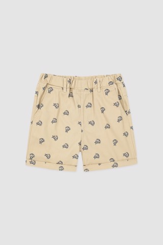 Quần short kaki bé trai Rabity x ELLE Kids- designed in Paris 81011