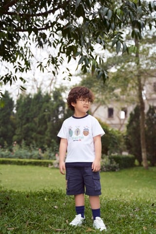 Quần short bé trai Rabity x ELLE Kids- designed in Paris 81012