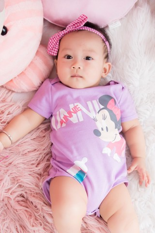 Body suit Mickey bé gái Rabity 5015
